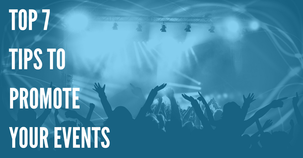 top event promotion tips