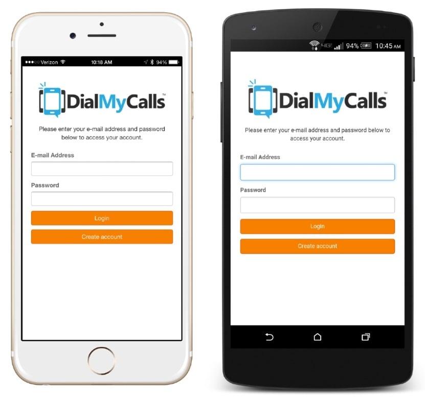 Mobile App - DialMyCalls