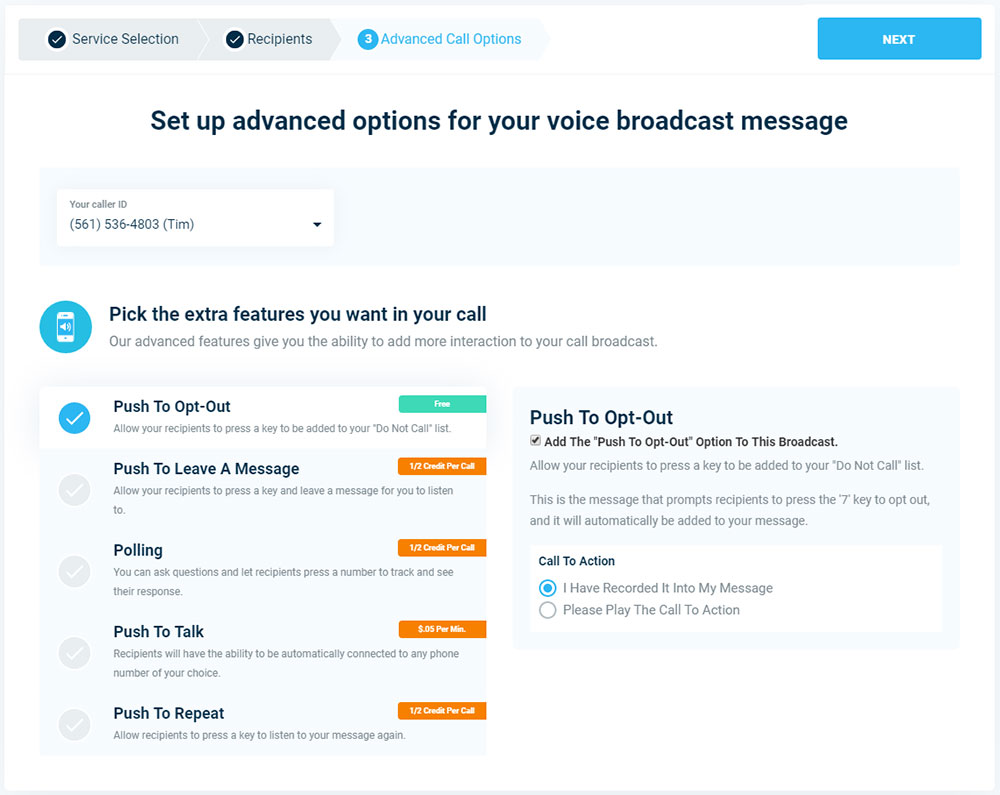 Push To Opt-Out - Version 3