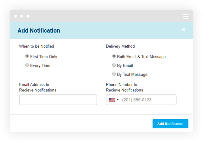 Text Message Reply Notifications