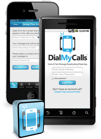 Automated Group Calling & Texting App for iOS, Android