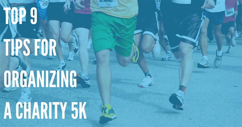 Top 9 Tips for Organizing a Charity 5k