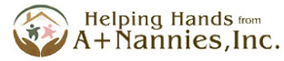 A Plus Nannies Logo