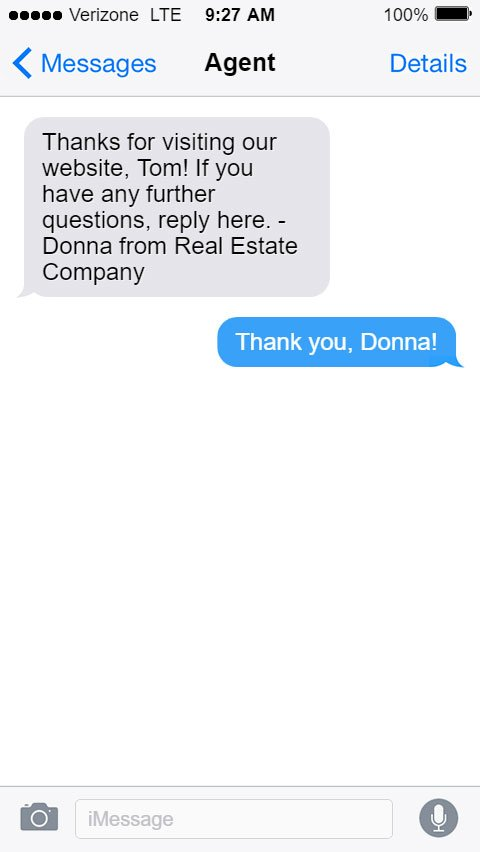 Real Estate SMS Templates - Potential Clients
