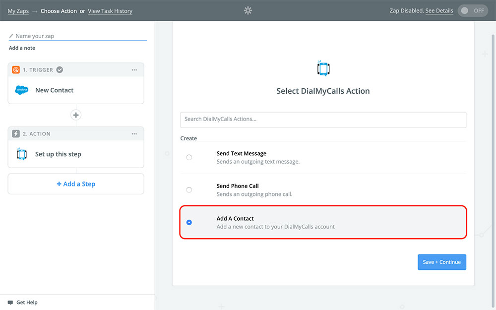 DialMyCalls + Salesforce Integration