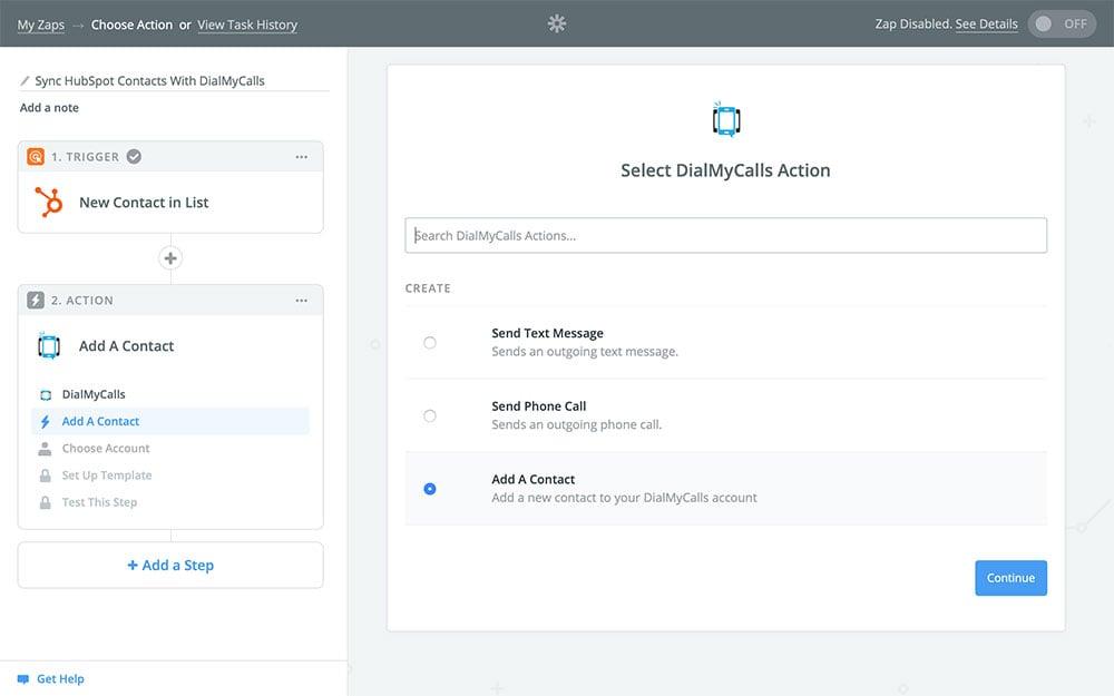 DialMyCalls + HubSpot Integration