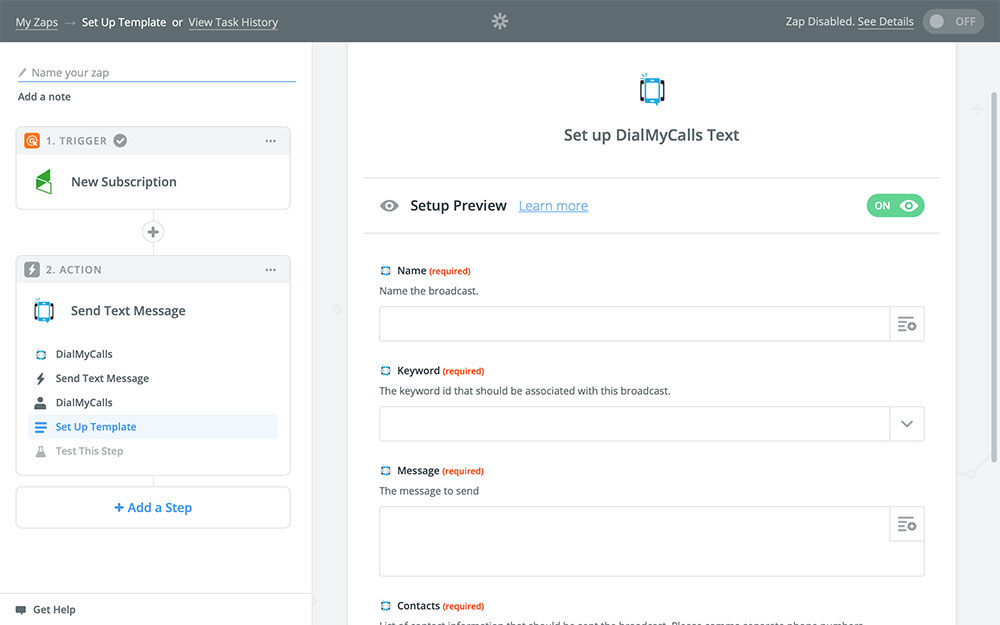DialMyCalls + Infusionsoft Integration