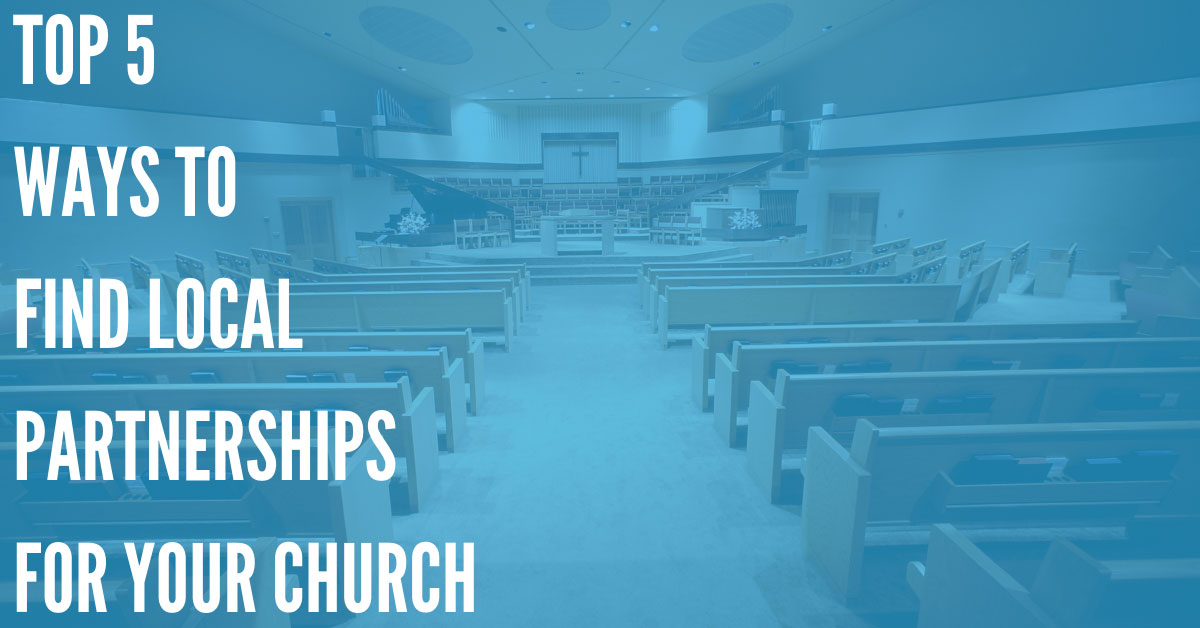 5 Ways to Find Local Community Organizations for Church Partnerships