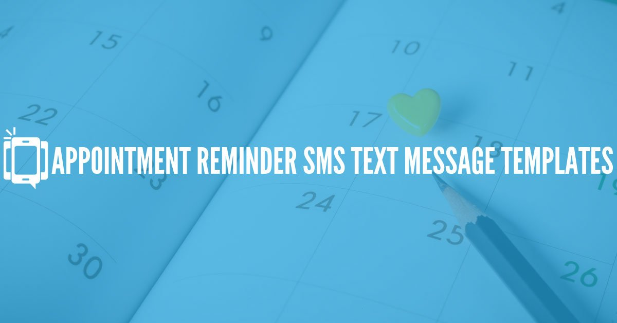 Get Your Text Appointment Reminder Game On