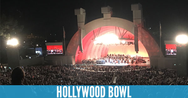 Hollywood Bowl - Top 10 Concert Venues in the United States