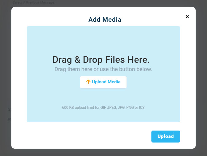 Add New Media (MMS) - DialMyCalls