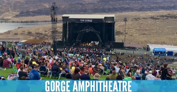 Gorge Amphitheatre - Top 10 Concert Venues in the United States