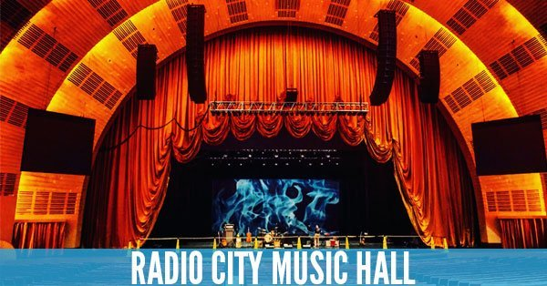 Radio City Music Hall - Top 10 Concert Venues in the United States
