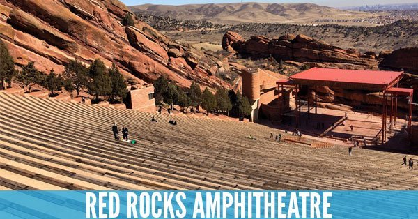 Red Rocks Amphitheatre - Top 10 Concert Venues in the United States