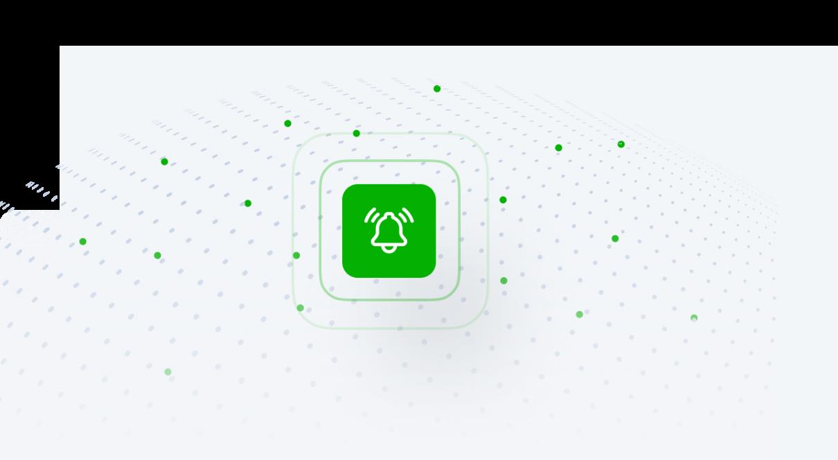 green alram icon